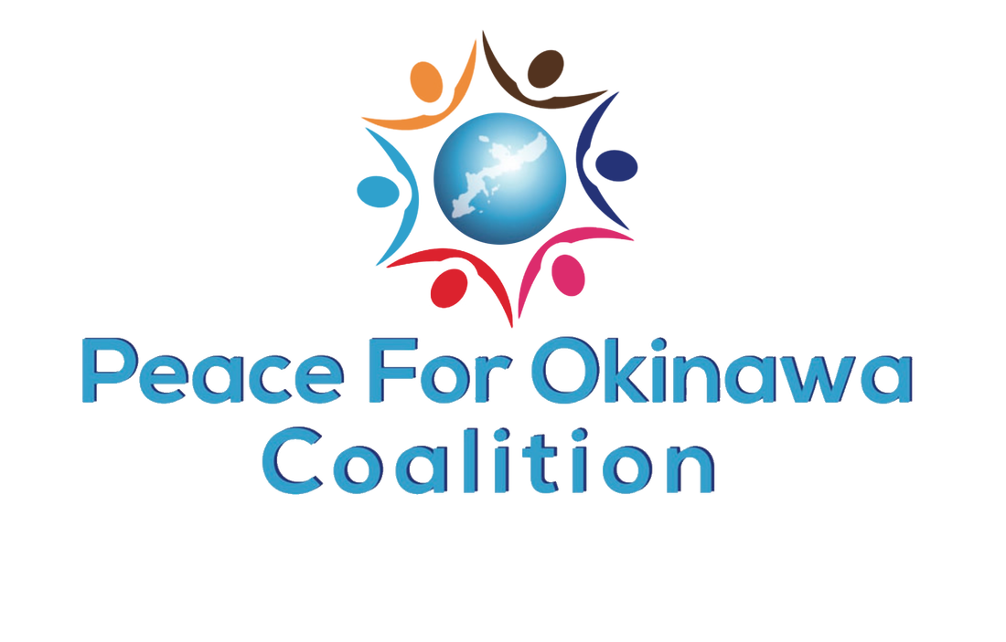 Peace for Okinawa Coalition logo twitter account